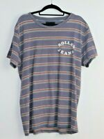 Rolla's Jeans Men's Short Sleeve Striped T-Shirt Size M