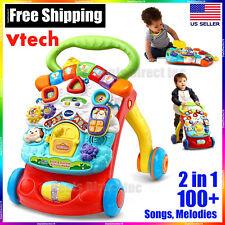 Baby Push Walker Activity Center Learning Developmental Toys Boys Girls - VTech
