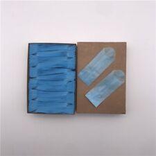 27 mm Skinny Vellum Glassine White Stamp Wax 600 Paper Bags Blue