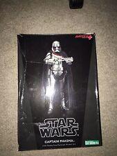 "Star Wars The Force Awakens Captain Phasma Trooper Kotobukiya ArtFX+ 8"""
