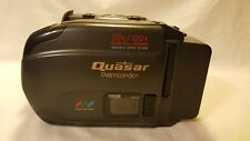 Quasar VM-545 Palmcorder VHS-C Handheld Analog Camcorder Video Camera Bundle
