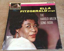 ELLA FITZGERALD sings the harold arlen song book 1961 UK HMV MONO VINYL LP