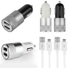 In-Car USB Adapter Charger 2,4A 12V Cigarette Lighter For Original Samsung