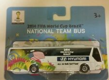 2014 OLYMPICS DIECAST TEAM BUS BRAZIL WORLD CUP HYUNDAI MAISTO MULTICOLOR SEALED