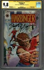 * HARBINGER #2 (1992) CGC 9.8 Signed Shooter Layton Pre-Unity (1600103021) *