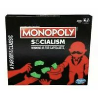 Monopoly Socialism Winning Is For Capitalists Parody Of The Classic New In Hand