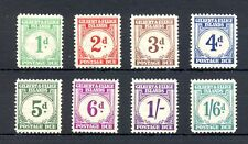 GILBERT & ELLICE 1940 POSTAGE DUE SG D 1/8 --CV £180 --MH VF