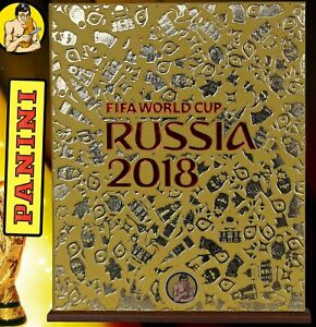 HOBBY SAPIENS GOLD EDITION Binder for WC Russia 2018 Panini hardcover album NEW!