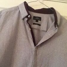 Short Sleeve Checked NEXT Formal Shirts for Men