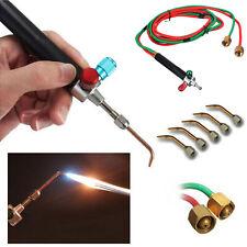 Jewelry Jewelers Micro Mini Gas Little Torch Welding Soldering Cutting w/ 5 Tips