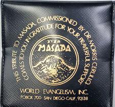 Masada Bronze Prayer Medal Doctor Morris Cerullo World Evangelism Incorporated
