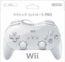 New Nintendo Wii Classic Controller PRO (White) from Japan F/S