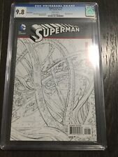 SUPERMAN # 12 SKETCH COVER / The new 52! / CGC Universal 9.8 / October 2012