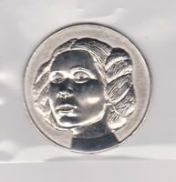 2005 Star Wars Princess Leia Metal California Lottery Official Coin A NEW HOPE