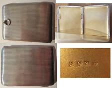 Silbernes Visitenkarten-Etui - Silber - ca. 1890-1900