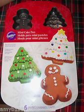 Wilton Mini Cake Pan Christmas NEW FREE USA SHIPPING