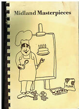 *INDIANAPOLIS IN 1987 CHRISTIAN SCIENTISTS COOK BOOK *MIDLAND HOUSE MASTERPIECES