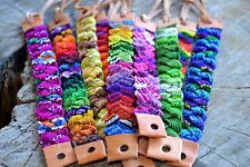 Friendship Bracelets Leather Woven Cotton Wholesale lot 12 Surfer Fair Trade