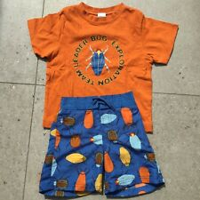 Gymboree Swim Shorts & T Shirt Age 3