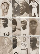 1988 The Sporting News Conlon Collection 1933 Negro All Stars (12) Card Set