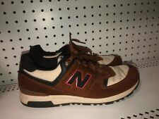 New Balance 578 Mens Athletic Running Shoes Size 8.5 Beige Brown Red Black