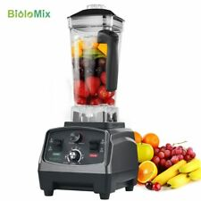 3HP 2200W Heavy Duty Commercial Grade Automatic Timer Blender Mixer Juicer Fruit
