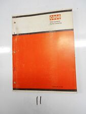 Case 350 Crawler Parts Catalog Manual A1162 2/72