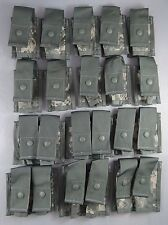 Lot of 5 ACU Grenadier Sets NEW 16 MOLLE Pouch each, 40mm US Army Universal Camo