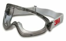 3M 2890S Sealed Safety Goggles Polycarbonate Anti-Fog Clear Lens