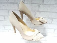 CLEARANCE Ladies ALDO CHARPING Nude Suede Bow Court Shoes RRP £65 UK 4 EURO 37
