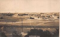 Real Photo Postcard Overview of Goodland, Kansas~111632