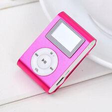 Mini USB Clip MP3 Player LCD Screen 32GB MicroSD TF Card Video Musik MP3 Player