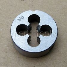 8mm x 1.25 Metric Right hand Die M8 x 1.25mm Pitch