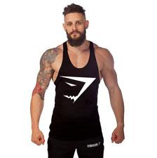 Gym Men Vest Bodybuilding Tank Top Muscle Clothing Stringer T-Shirt hot