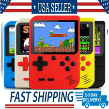 Mini Retro Handheld Game Console System 400 Games In 1 Built In Boy Color 2020