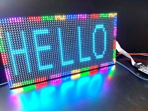 P4 LED indoor screen RGB matrix module + Controller PHONE PROGRAMMABLE UK GIFT