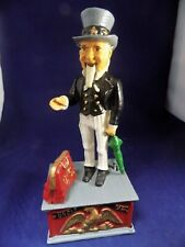 Vintage cast Uncle Sam bank mid century mechanical VERY NICE CONDITION!!
