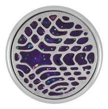 "Buy 4 Get 5Th $6.95 Snap Free Ginger Snapsâ""¢ Painted Design - Purple Sn09-70"