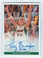 2005 WNBA Authentic Autograph Tully Bevilaqua Seattle Storm 2004 Champions