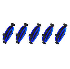 Apevia 512L-CBL 120mm Blue LED Case Fan w/ Anti-Vibration Rubber Pads (5-pk)