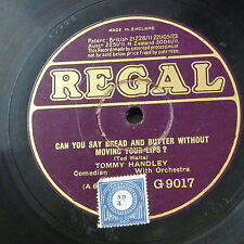 78rpm TOMMY HANDLEY can you say bread & butter / must have another little one
