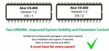 Akai VX-600 - Version 1.2 Firmware Update Upgrade Eprom for VX600 Synthesizer