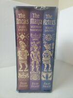EMPIRES OF EARLY LATIN AMERICA Incas Aztecs Maya 3 volumes FOLIO SOCIETY Sealed!