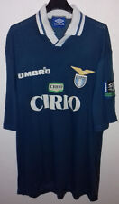 Maglia Shirt ALLENAMENTO LAZIO UMBRO BLU PETROLIO CIRIO STAGIONE 96/97