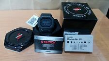 Vintage King of G-Shock Tough Solar GX-56 GWX Series All Matt Black World Time