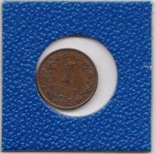 1 cent Niederlande 1884 Wilhelm III Willem Netherlands bessere Erhaltung
