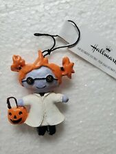 Hallmark no box Halloween ornament Maddy the Mad Scientist