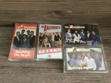 Lot 4 The Anchormen Cassette Tapes Untested AS-IS