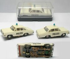 1960s Faller Germany OPEL DIPLOMAT POLIZEI POLICE HO Slot Car RaRe Boxed