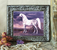 Desert Illusion Arabian Horse Pony Print Antique Style Framed 11X13